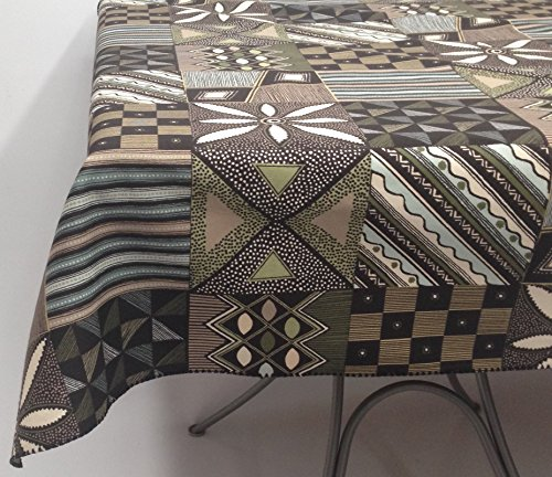HomeSewBeautiful Ethnic Designer Tablecloth Cotton Rectangle 60 X 65