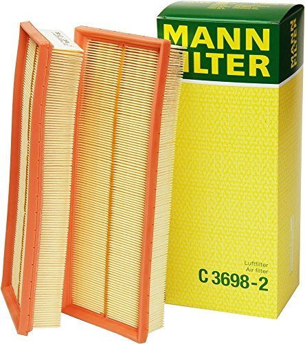 Mann-Filter C 3698-2 Air Filter (Set of 2) ()