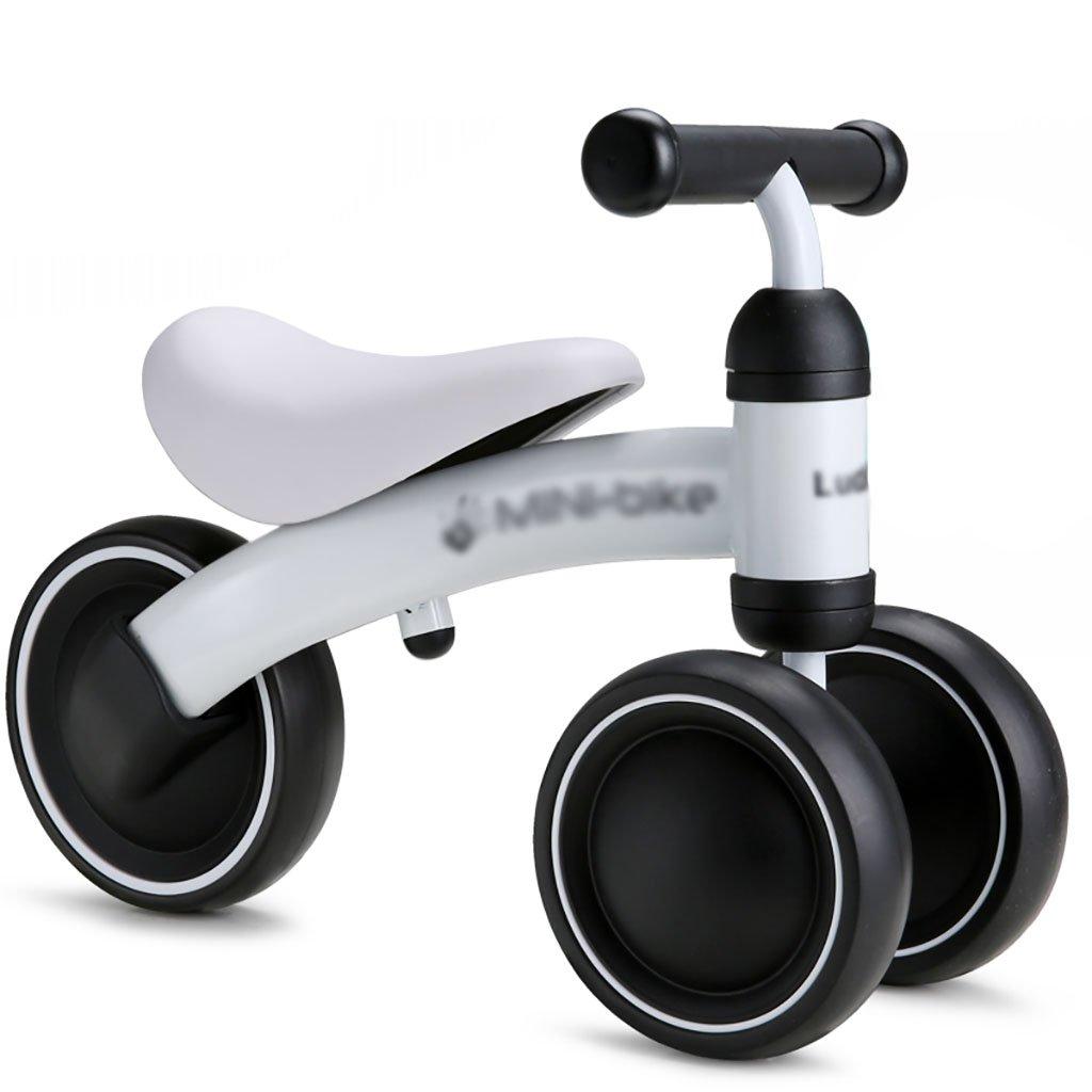 ベビーカー/子供用サイクリング/13歳の金属玩具3ラウンド子供用自転車/ベビー用チェーンなしスケート自転車 (色 : A) B07DVJW7YRA