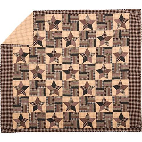 (VHC Brands Bingham Star 9370 Quilt, King)