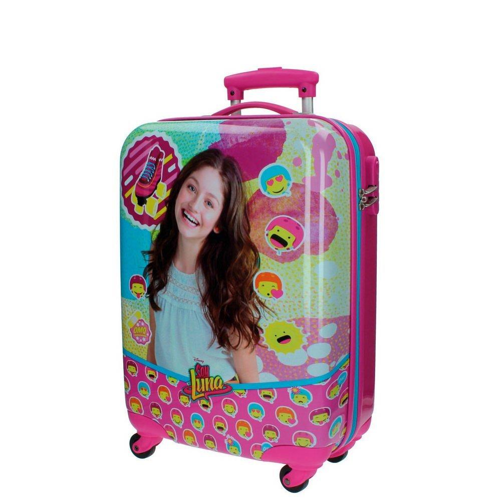 Disney Kabinenkoffer Ich bin Luna Kindergepäck, 35 Liter, Rosa