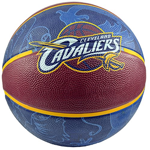 Best Review Of Spalding NBA Cleveland Cavaliers Team Colors And Logo Basketball