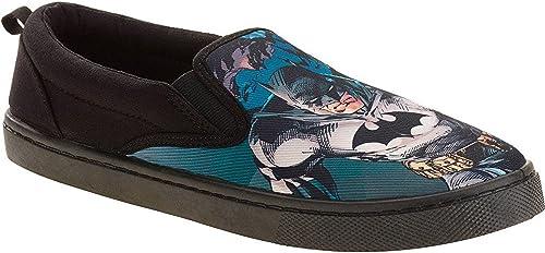 Men/'s Superman Canvas Slip-On Shoe Size 11-Brand New