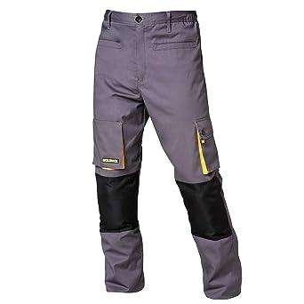 Wolfpack 15017090 Pantalon De Trabajo Gris Negro Talla 42 44 M Amazon Es Bricolaje Y Herramientas