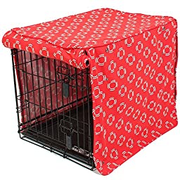 molly mutt Lady in Crate Cover, Red, Medium