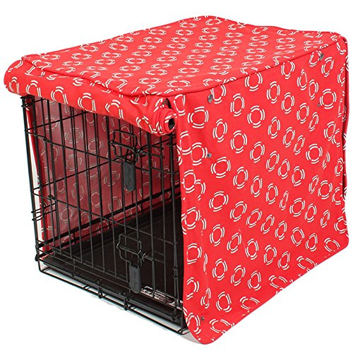 molly mutt Lady in Crate Cover, Red, Huge