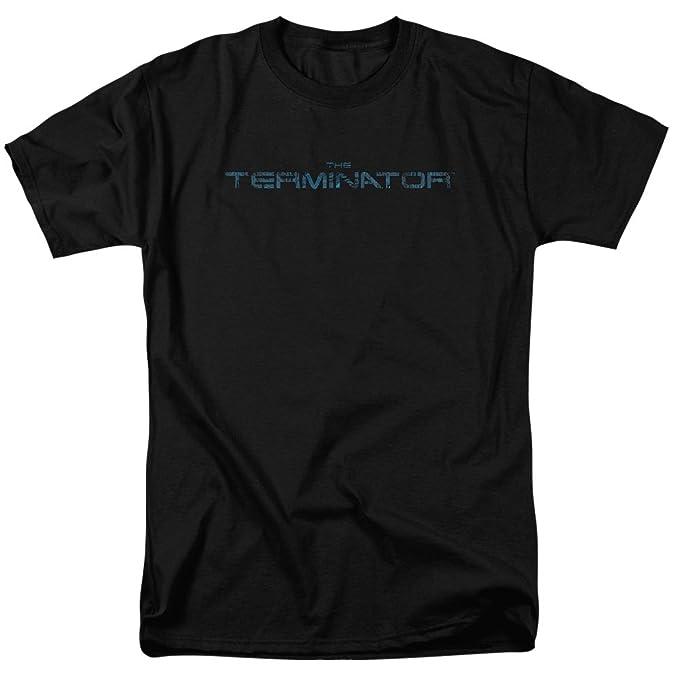 amazon com trevco unisex terminator circuit board logo adult tShirt Circuit Board Logo Adult Black Tee Tshirt Terminator Circuit #1