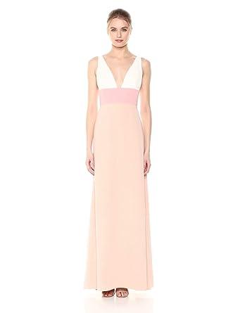 08e9c085 Amazon.com: Jill Jill Stuart Women's V-Neck Colorblock Dress: Clothing