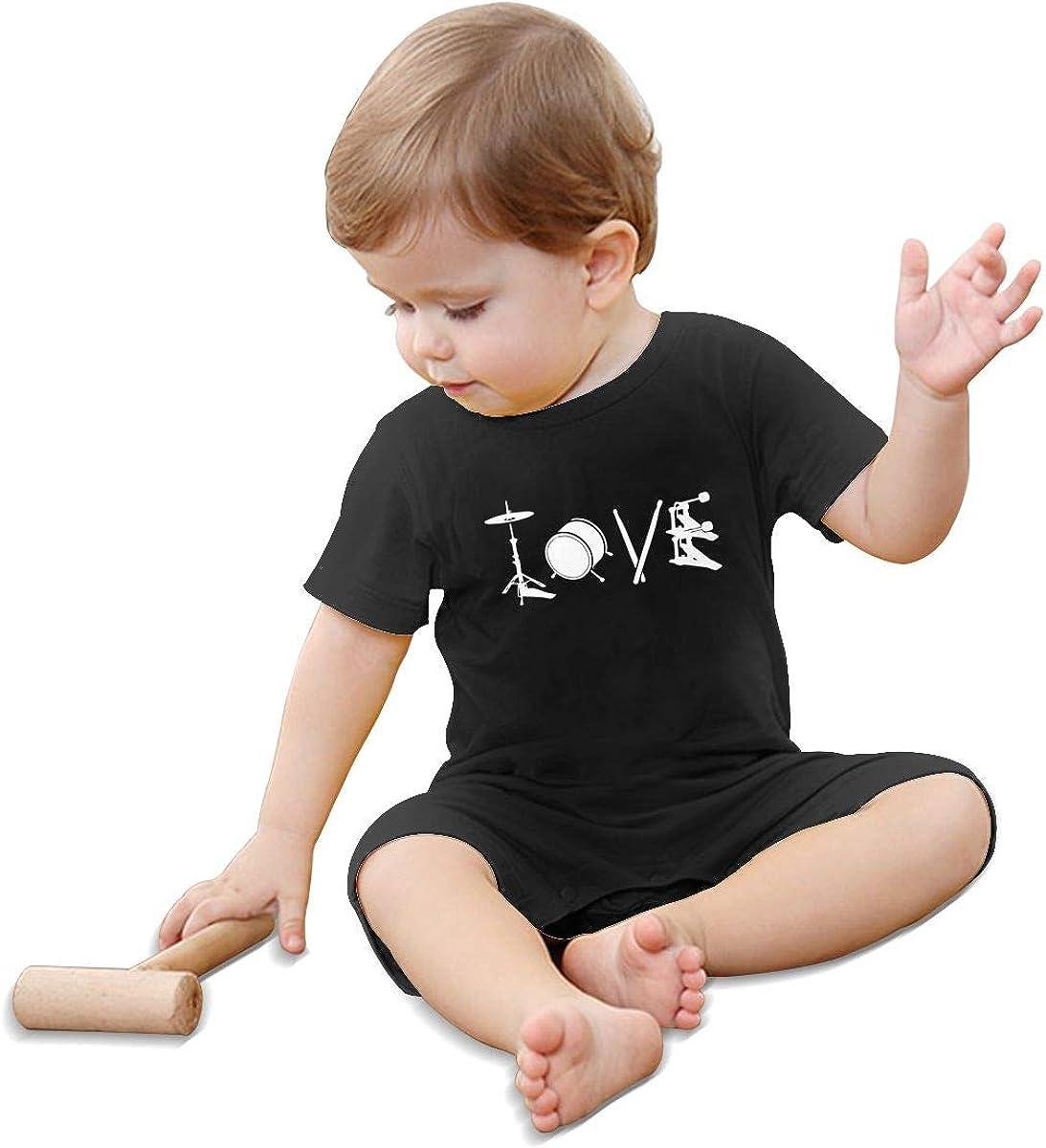 Love Drum Baby Boy Jumpsuit One Piece Baby Rompers