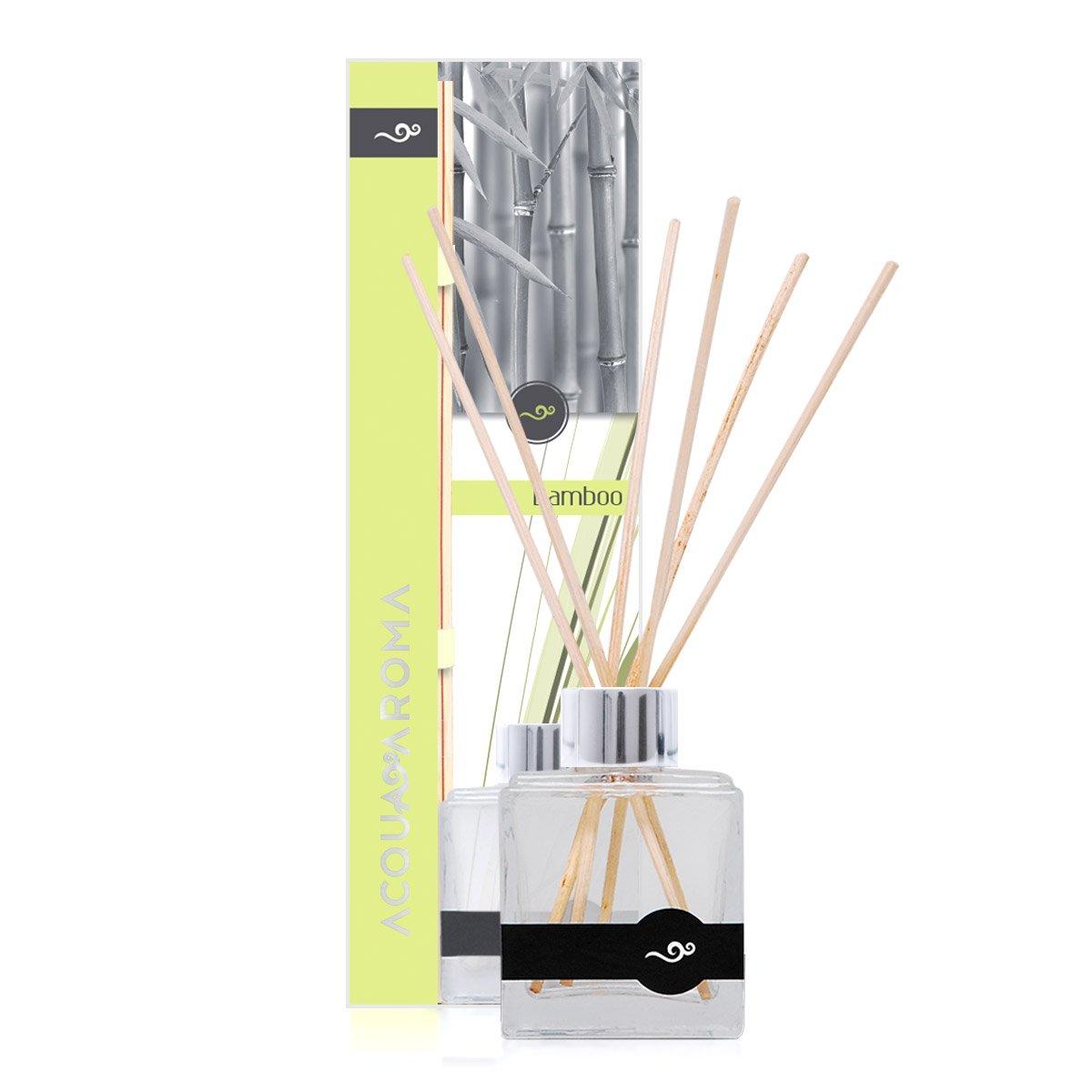 Acqua Aroma Bamboo Reed Diffuser 3.4 FL OZ (100ml)