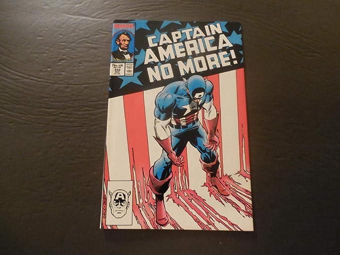 Captain America 332 Aug 1987 Copper Age Marvel Comics Entertainment Collectibles