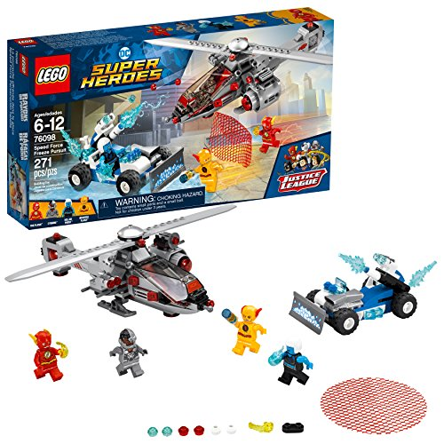 LEGO DC Super Heroes Speed Force Freeze Pursuit 76098 Building Kit (271 Piece) (Lego Minifigure Kid Flash)