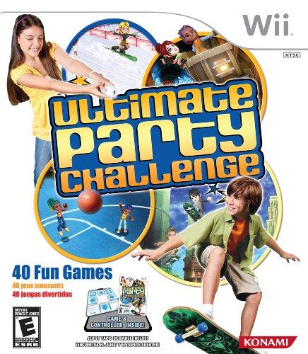 Party Challenge Bundle (Ultimate Party Challenge with Dance Pad Bundle - Nintendo Wii (Dance)