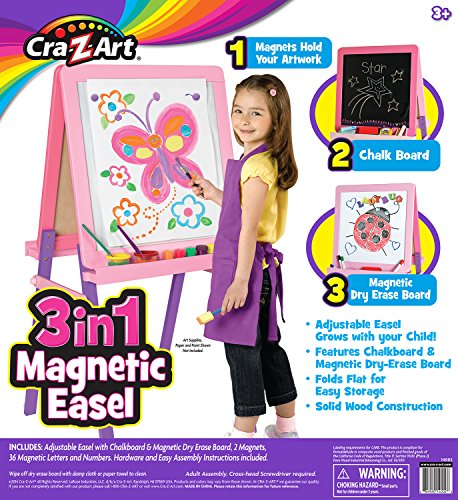 Cra-Z-Art 3-in-1 Magnetic Standing Easel