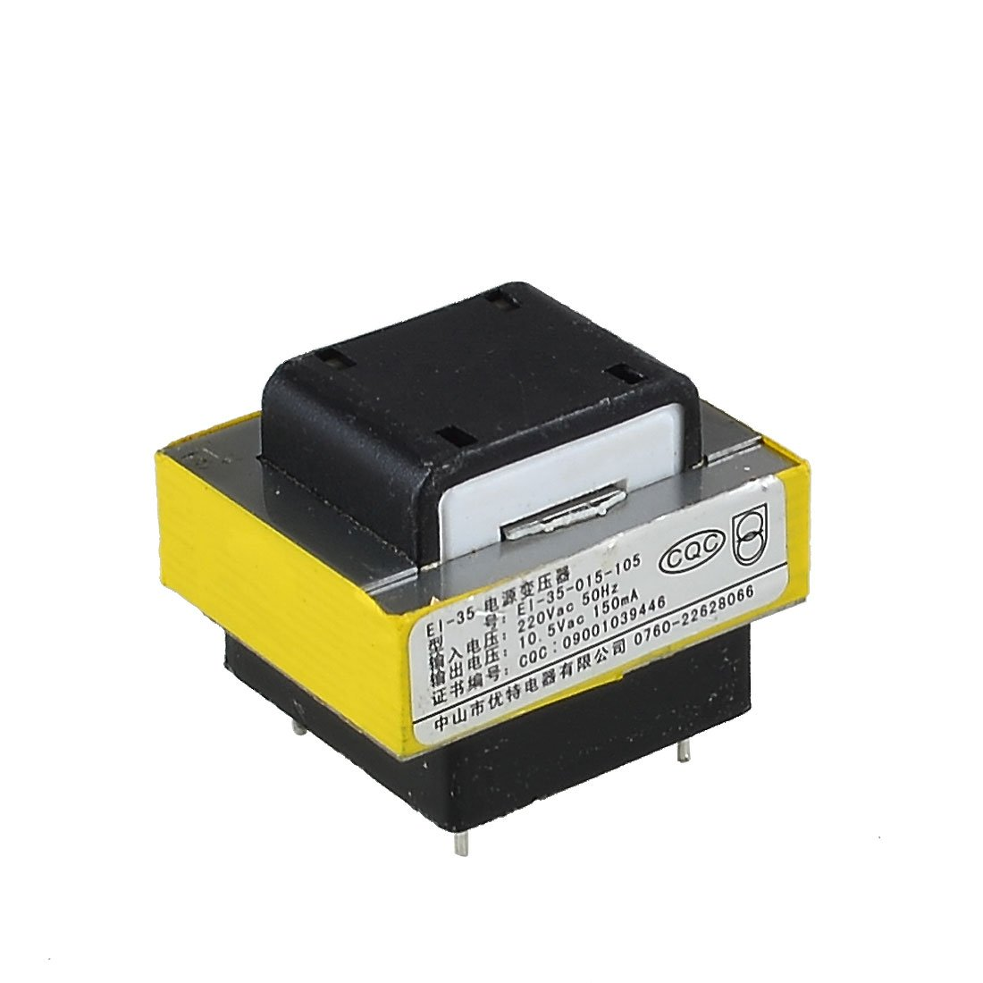 Sourcingmap AC 220V 10.5V Magnetic Core Electronic Component EI Power Transformer a13020100ux1323