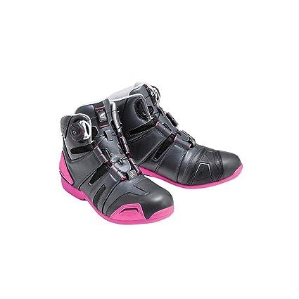 fcb63bec0 Amazon.com: RS Taichi Drymaster BOA Riding Shoes - RSS006 (24cm/EU37)  (Charcoal/Pink): Automotive