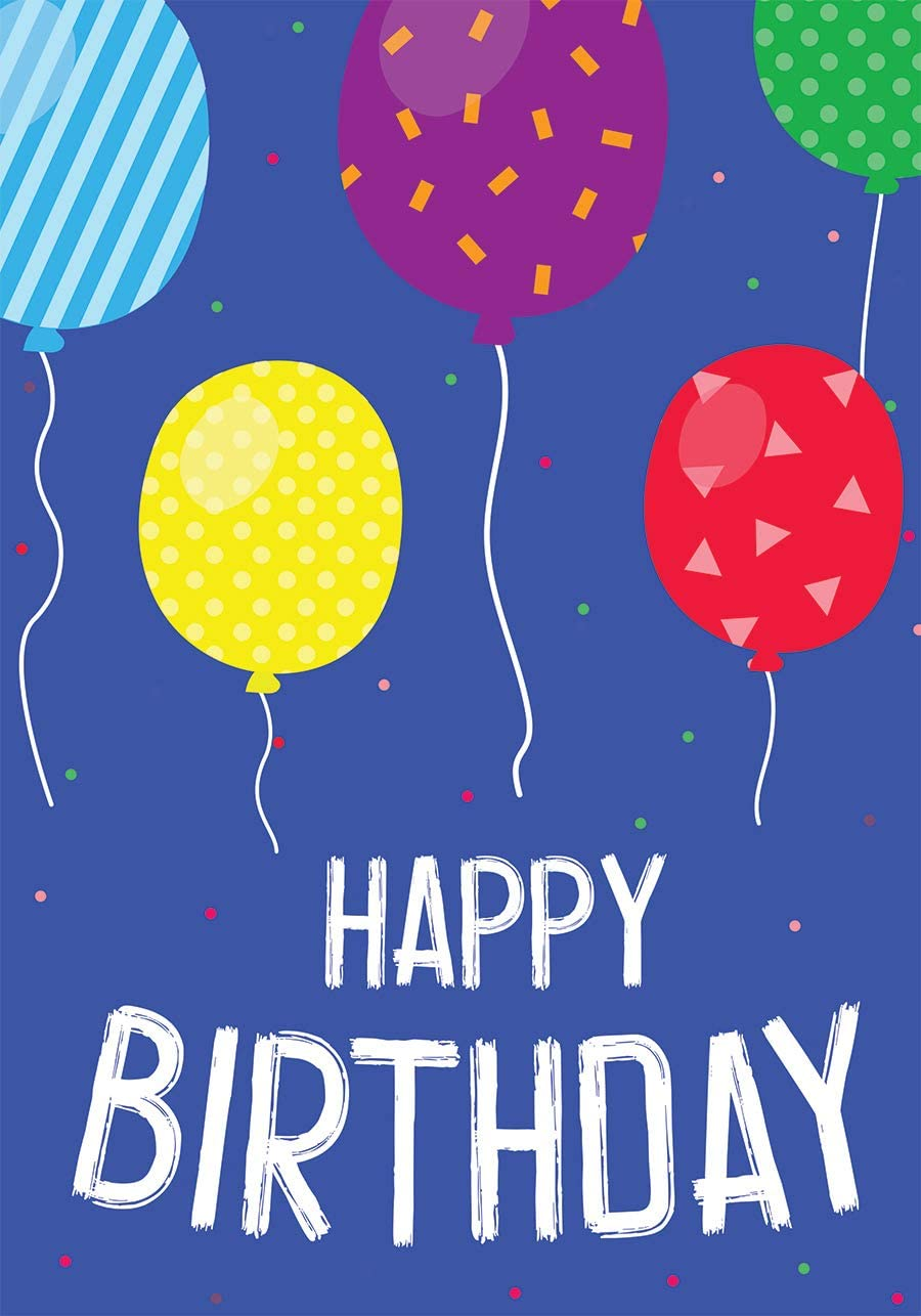 Briarwood Lane Birthday Balloons Garden Flag Celebration 12.5