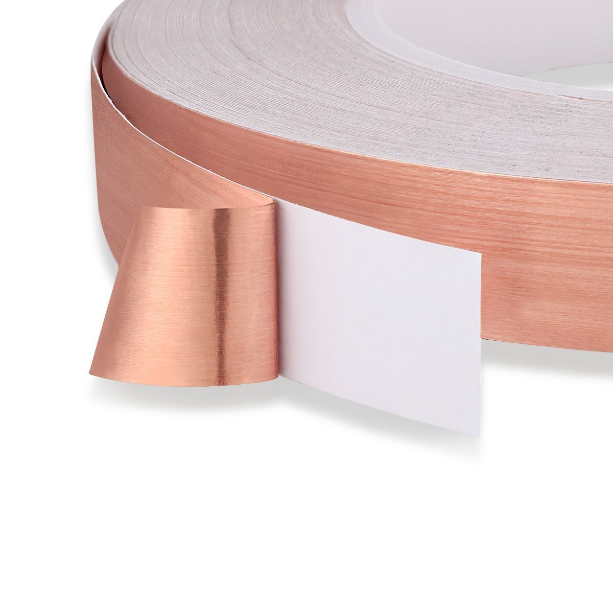 Other Soldering Slug Repellent Paper Circuits Grounding Wolfride Pack of 3 Double-Sided Conductive EMI Shielding Copper Foil Tape for Stained Glass Electrical Repairs 27.5 Yard//Each
