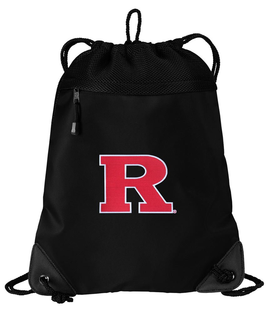 Broad Bay RU Drawstring Bag Rutgers University Cinch Pack Backpack UNIQUE MESH & MICROFIBER