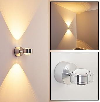 LED Wandleuchte Indore Mit Tollen Lichteffekten   Wandspot Für Das  Wohnzimmer   LED Badezimmerlampe IP44