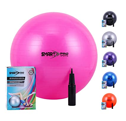 Ever Rich® - Pelota de Yoga para Ejercicio, 65 cm + Bomba de ...