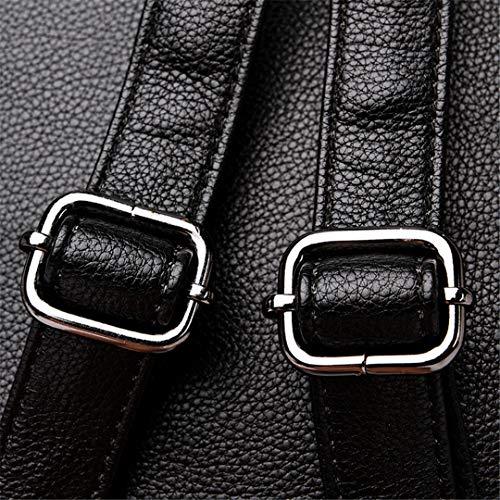 Dos Sac Cuir Femme Dos Brown Cartable Mode Marques Élégant Femelle Gensotrn En Sac Sacs Dos xPtfU