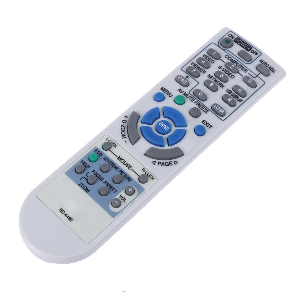 Replacement Projector Remote Control for NEC V260 V230X NP-M260W NP-M260X NP-M300W NP-M300X P350W P350X by BOMAZ
