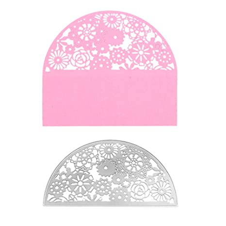ULTNICE Troqueles troqueles de corte plantilla de estampado de metal bricolaje para álbum Tarjeta de papel