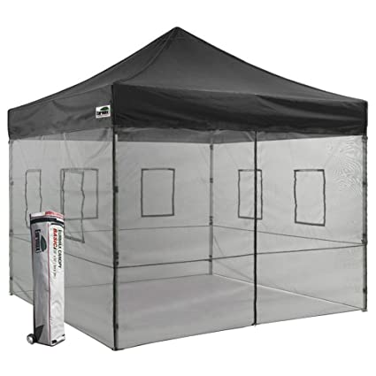 Eurmax 10x10 Vendor Canopy Outdoor Food Service Canopy Tent with Removal Mesh Walls and Wheeled Bag  sc 1 st  Amazon.com & Amazon.com: Eurmax 10x10 Vendor Canopy Outdoor Food Service Canopy ...
