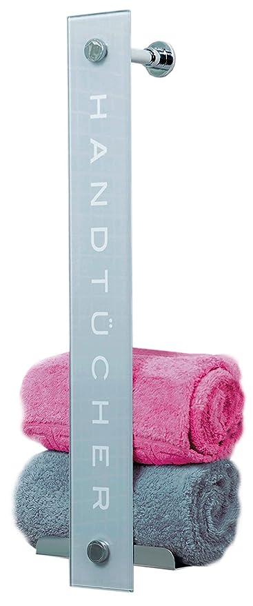Duschmeister – Toallero DMHT08 – práctico diseño con capacidad de hasta 8 toallas – barra de