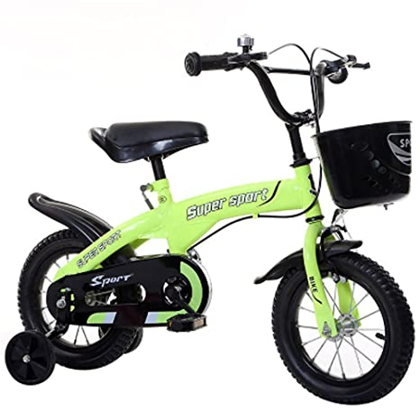 Z&D Bicicletas Para Niños, Bicicleta Con Marco De Acero De Alto Carbono Con Ruedas Estabilizadoras
