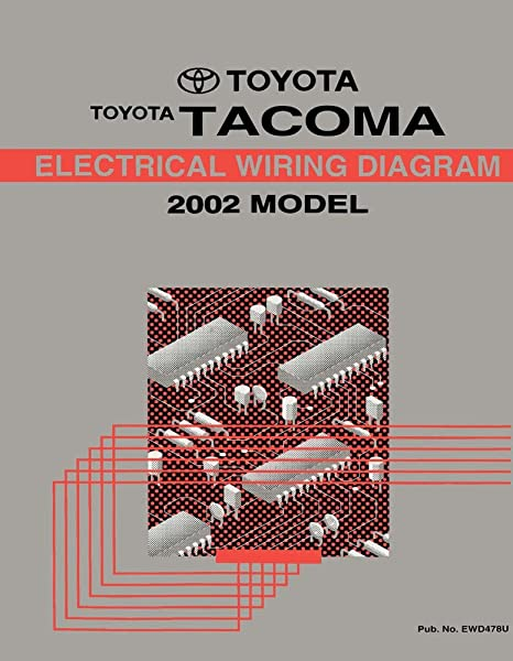 amazon com: bishko automotive literature 2002 toyota tacoma wiring diagrams  schematics layout factory oem: automotive