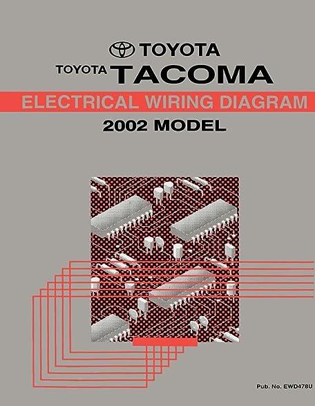 Amazon.com: 2002 Toyota Tacoma Wiring Diagrams Schematics Layout ...