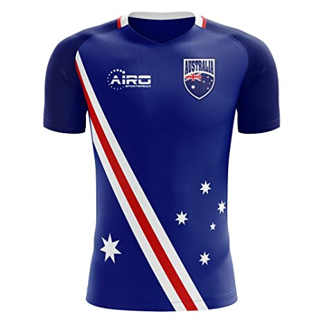 c9b549dcde0 Image Unavailable. Image not available for. Color: Airo Sportswear 2018-2019  Australia Flag Away Concept ...