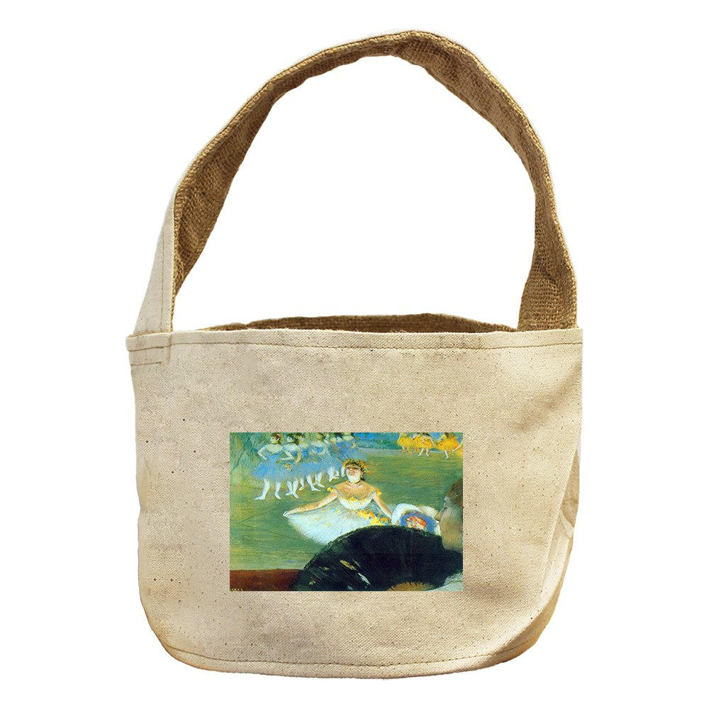 Style in Print Dance With Bouquet (Degas) Canvas and Burlap Storage Basket Basket