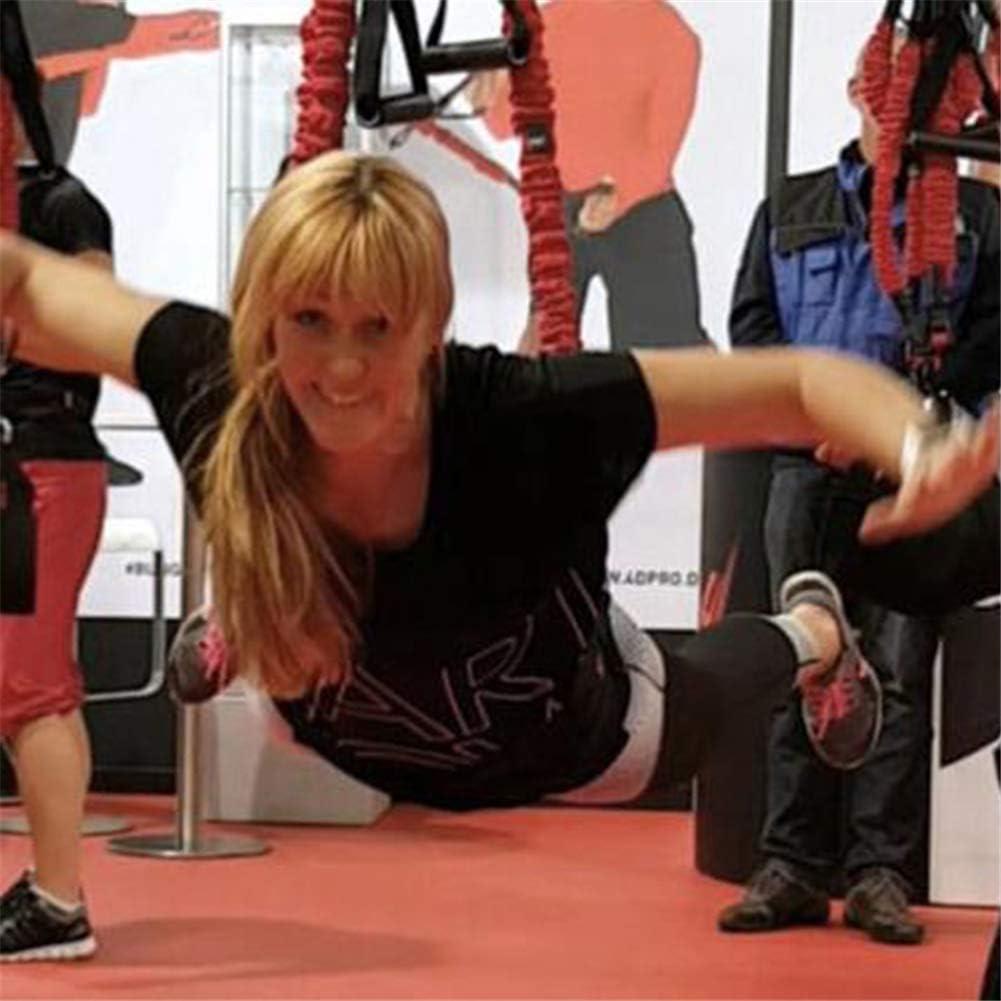 Kit completo de entrenamiento de resistencia al peso corporal, pesas corporales para ejercicios Bandas para equipos suspensión, correas elásticas para ...