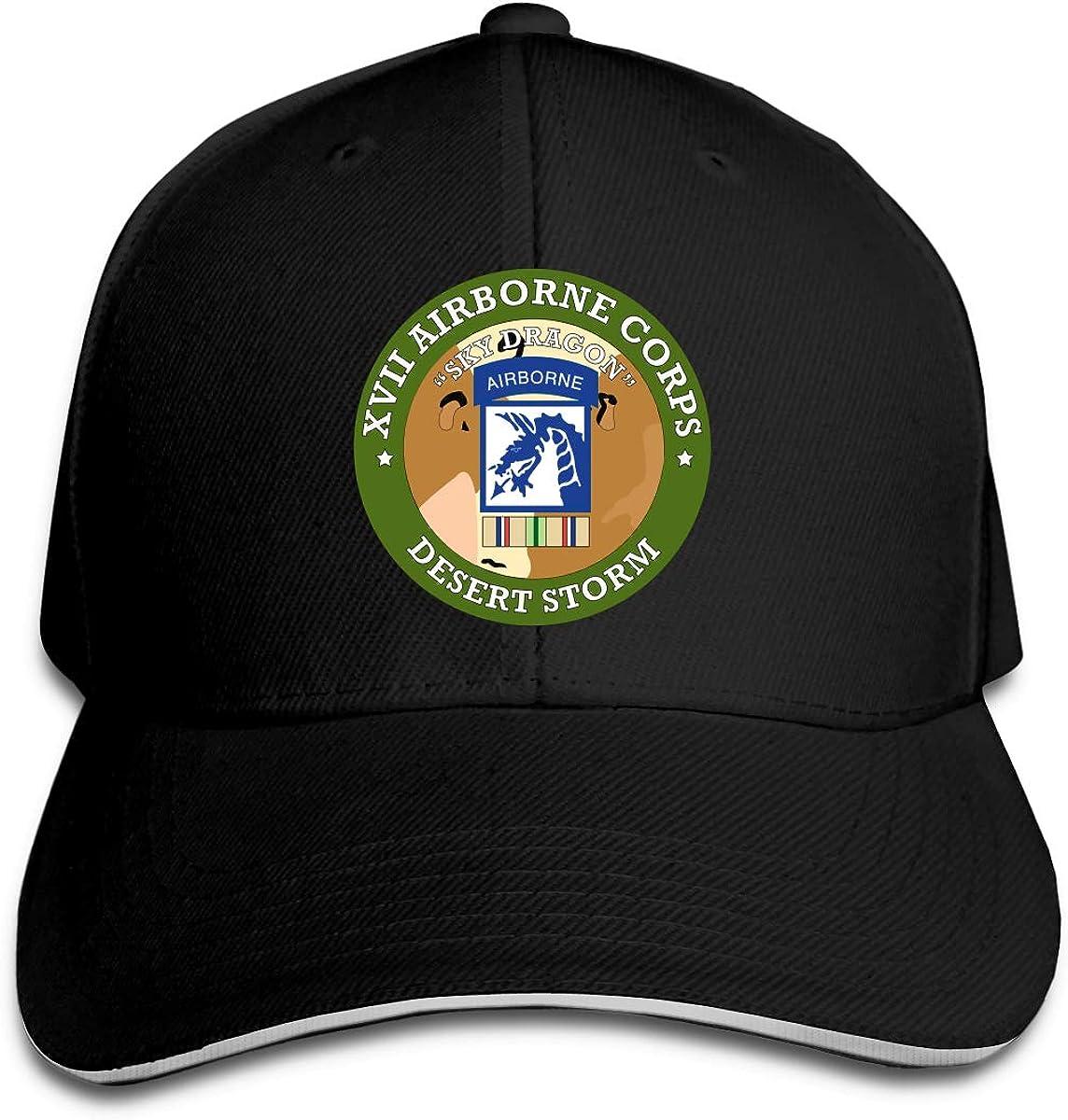 18th Airborne Corps Unisex Sandwich Cap Trucker Cap