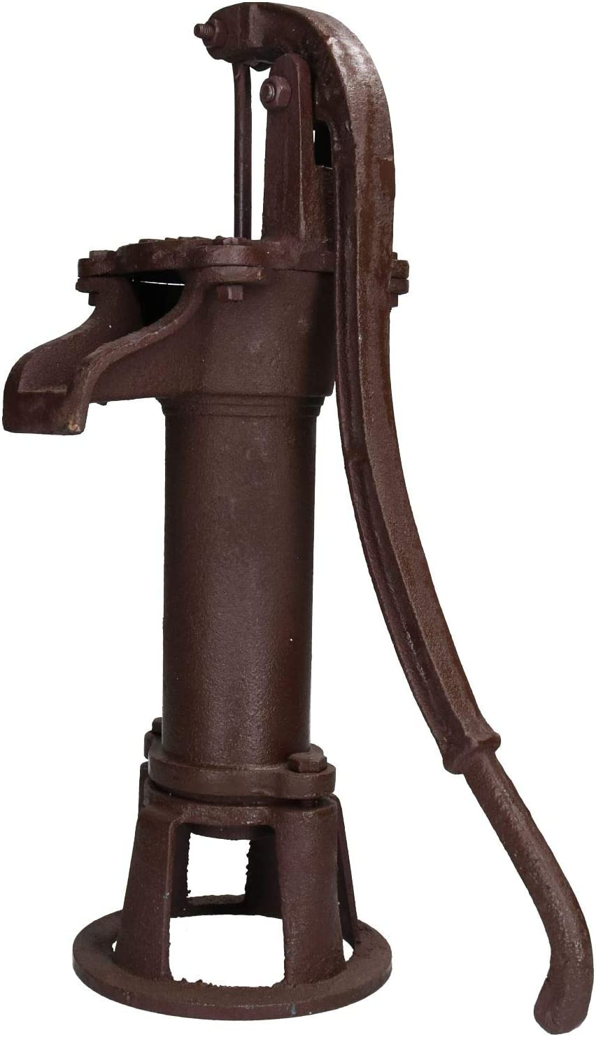 AB Tools Garden Hand Water Pump Vintage Style Cast Iron Well Ornament Feature Decoration
