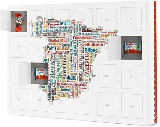 artboxONE Premium calendario de Navidad Calendario de Adviento con ...