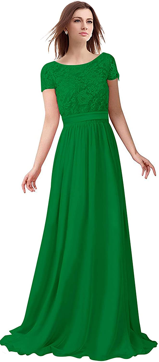 Green Lily Anny Short Sleeve Two Piece Set Mother of The Bride Dresses L230LF