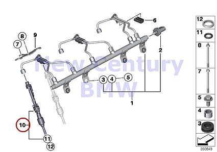 4 X BMW Genuine Fuel Injection System Injector Z4 28i X5 35i X5 35iX X6 35i