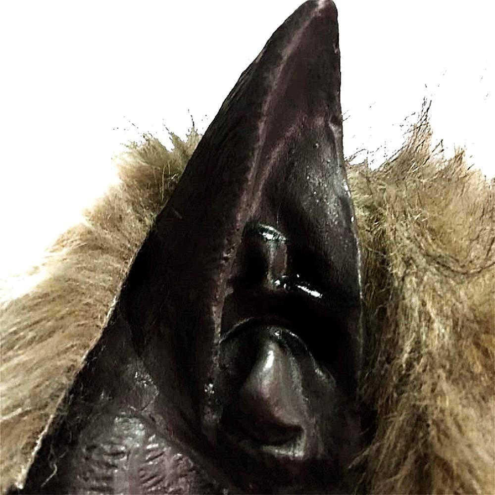 Idea Regalo per Natale e Compleanno Halloween Maschera Lupo Mannaro Unisex Uomo Lattice Travestimento Donna Carnevale Accessori