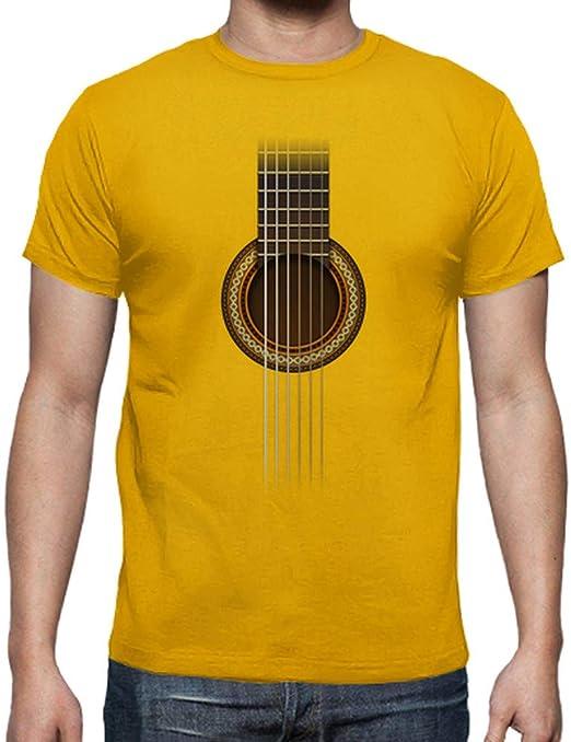 latostadora Camiseta Full Guitar - Camiseta Hombre clásica ...