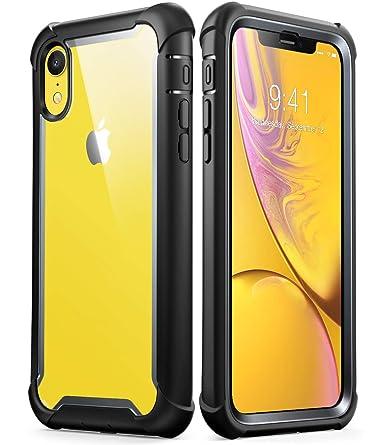 amazon com iphone xr case i blason ares full body rugged clear