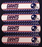 Ceiling Fan Designers 42SET-NFL-NYG NFL York Giants Football 42 In. Ceiling Fan Blades Only