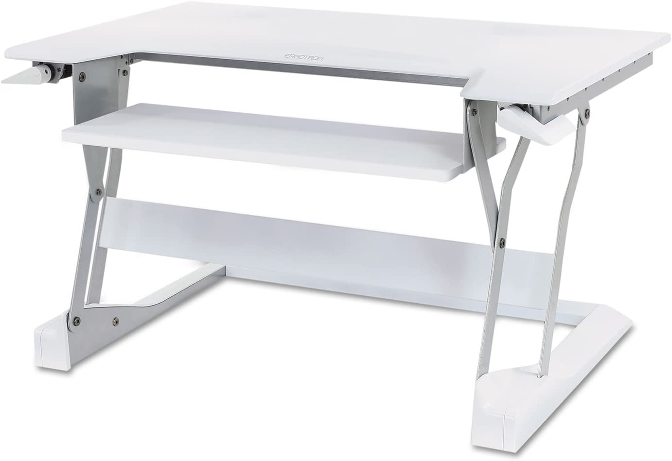 Ergotron 33397062 WorkFit-T Desktop Sit-Stand Workstation 35 x 22 x 20 White