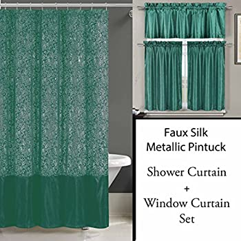 Home Fashions Tropical Fish Shower And Window Curtain Set Delicate
