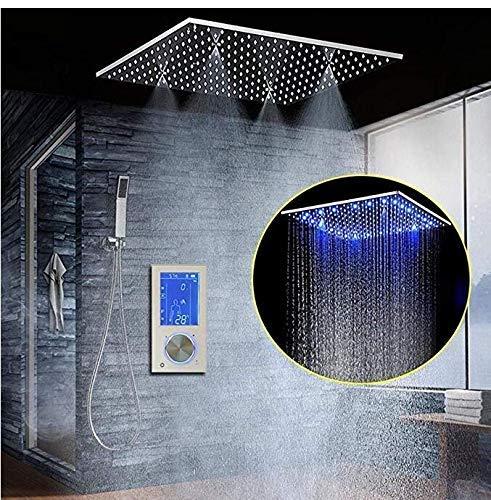 シャワー蛇口高級シャワーシステムスイッチ多層電気メッキプロセスシャワーヘッド壁掛けシャワーシステム B07R4WKDV2
