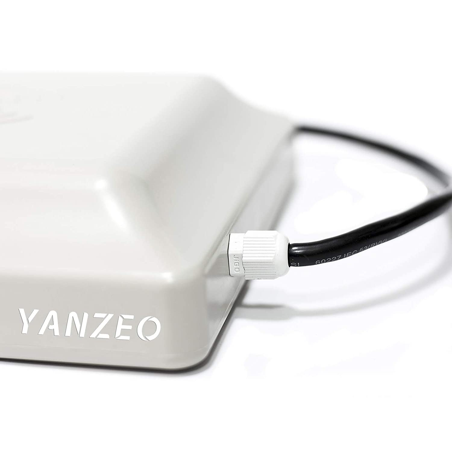 Yanzeo SR681 UHF RFID Reader 6m Long Range Outdoor IP67 8dbi Antenna RS232//RS485//Wiegand Output UHF Integrated Reader