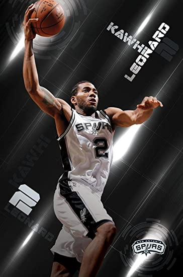 Trends International San Antonio Spurs Kawhi Leonard Wall Poster 22375quot